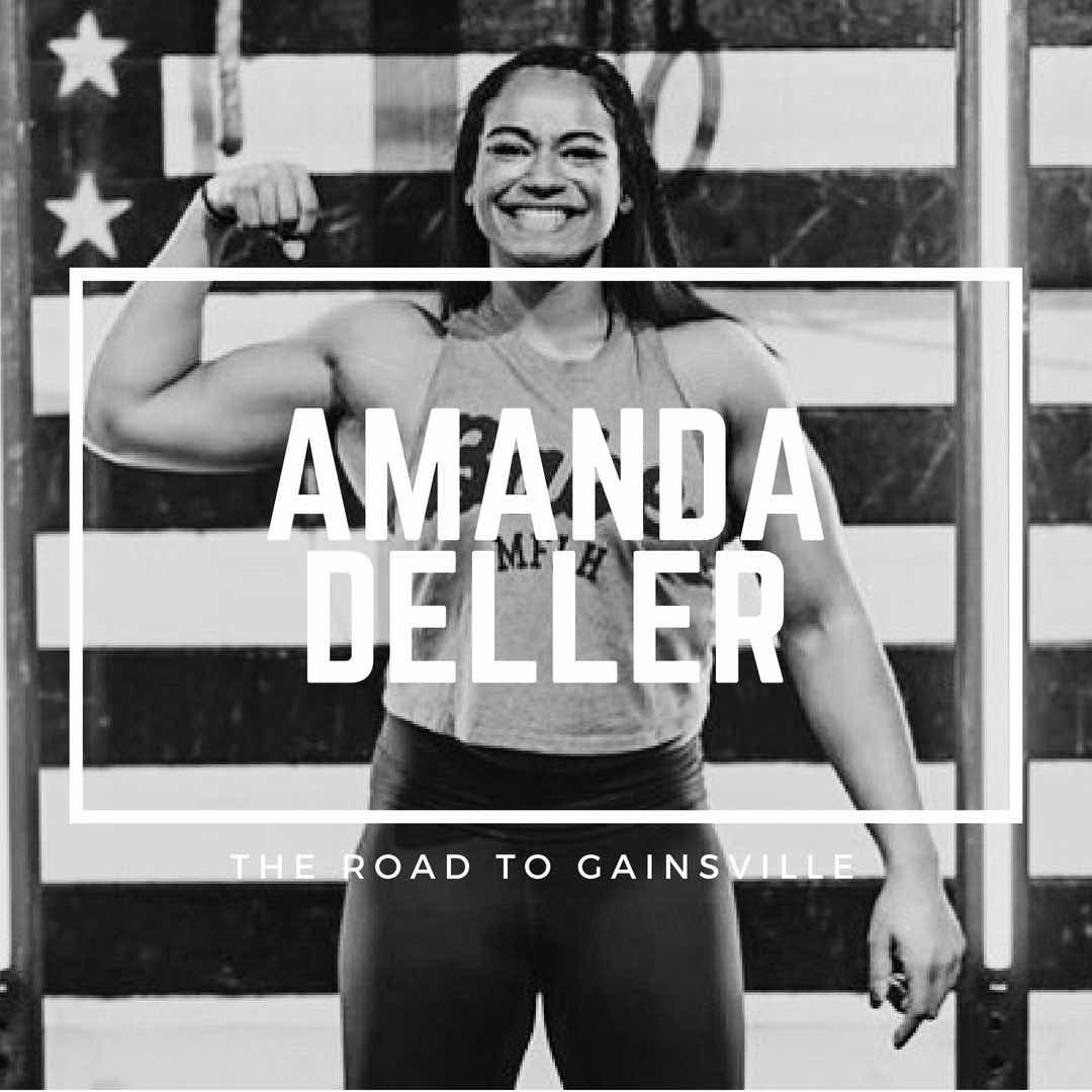 12 Questions With CrossFit Athlete/Coach Amanda Deller