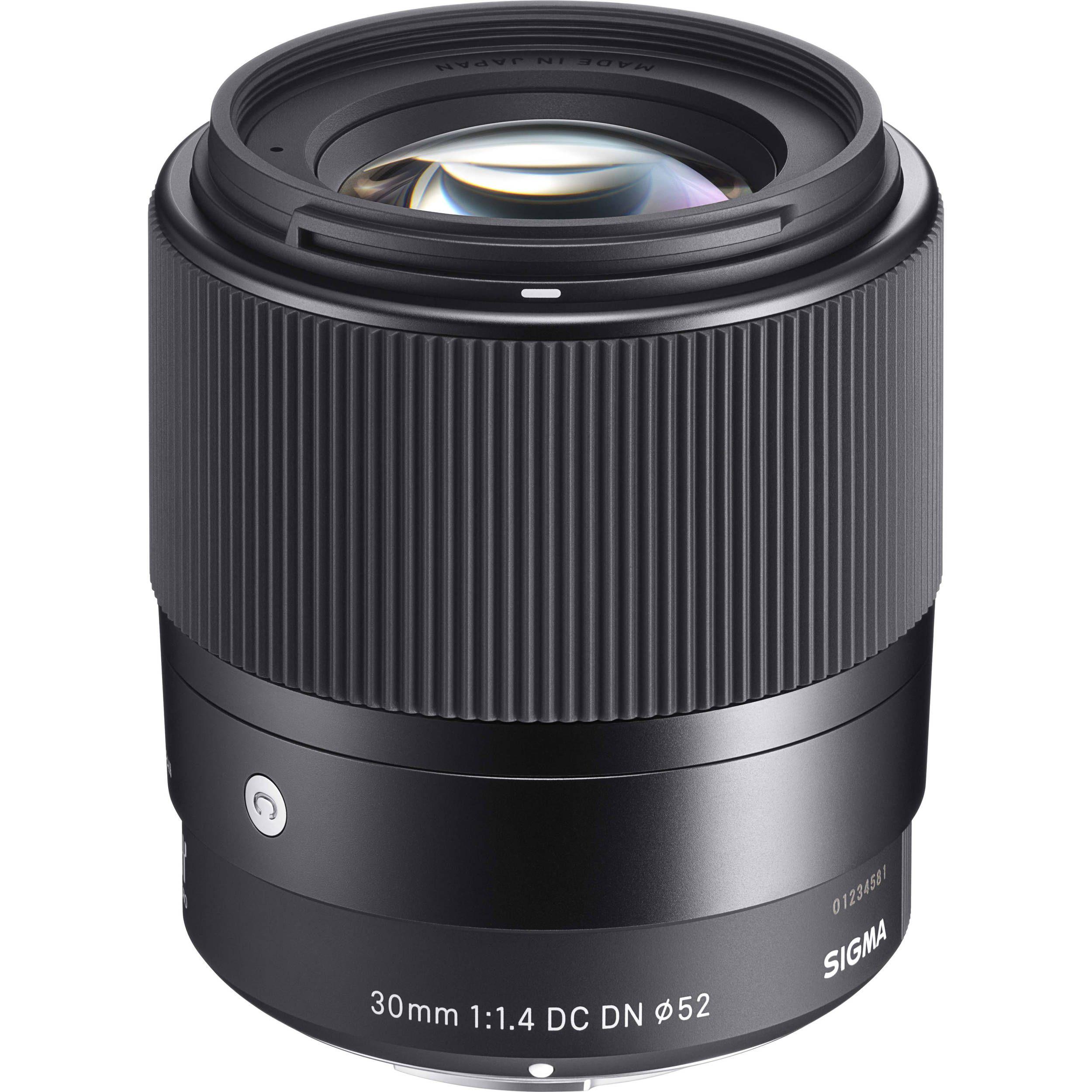 Sigma 30mm f14 dc dn contemporary lens for sony e