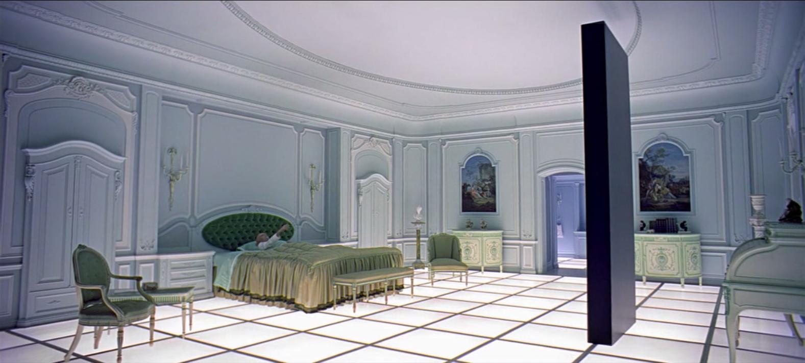 2001 L Odyssee De L Espace Stanley Kubrick 1968 Monolithe Mise En Scene Architecture