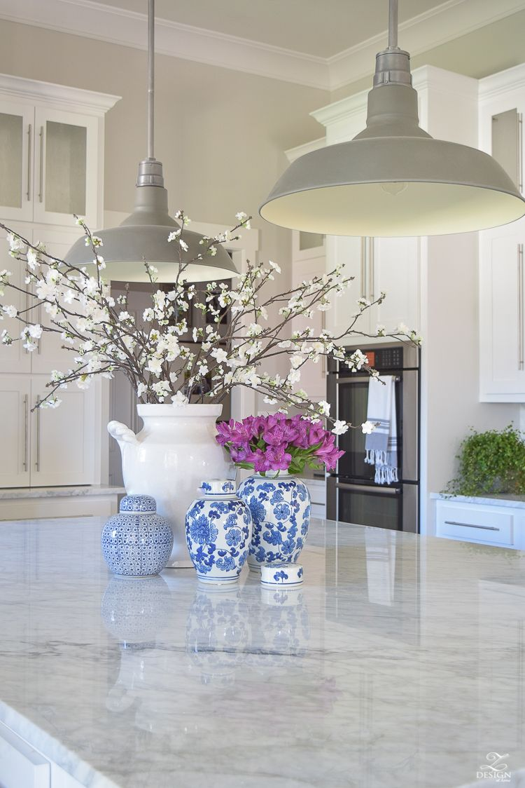 9 Simple Tips for Styling Your Kitchen Island  ZDesign At Home