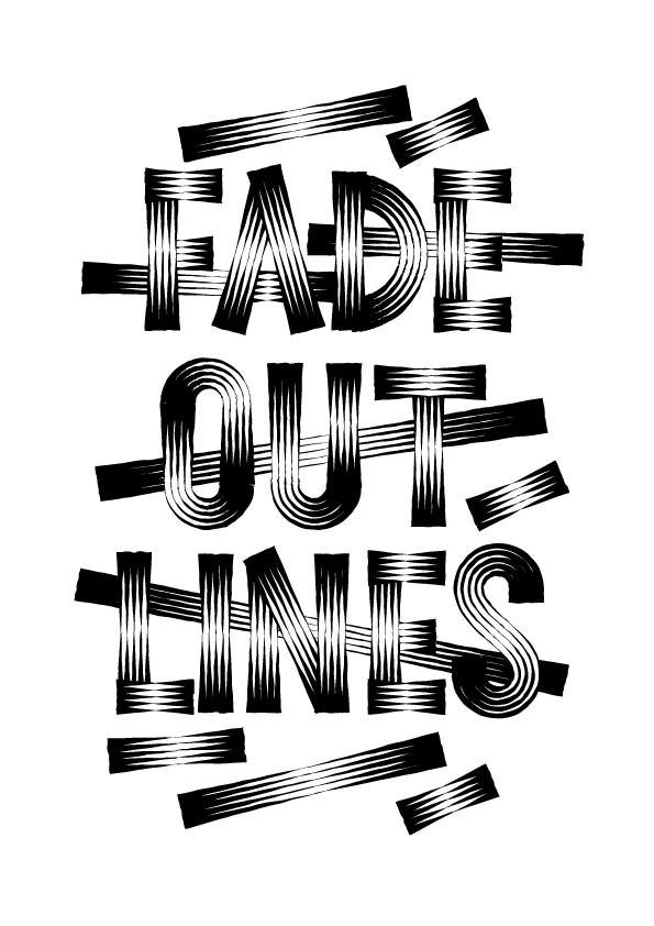Fade Out Lines Disenos De Letras Fade Out Sprite