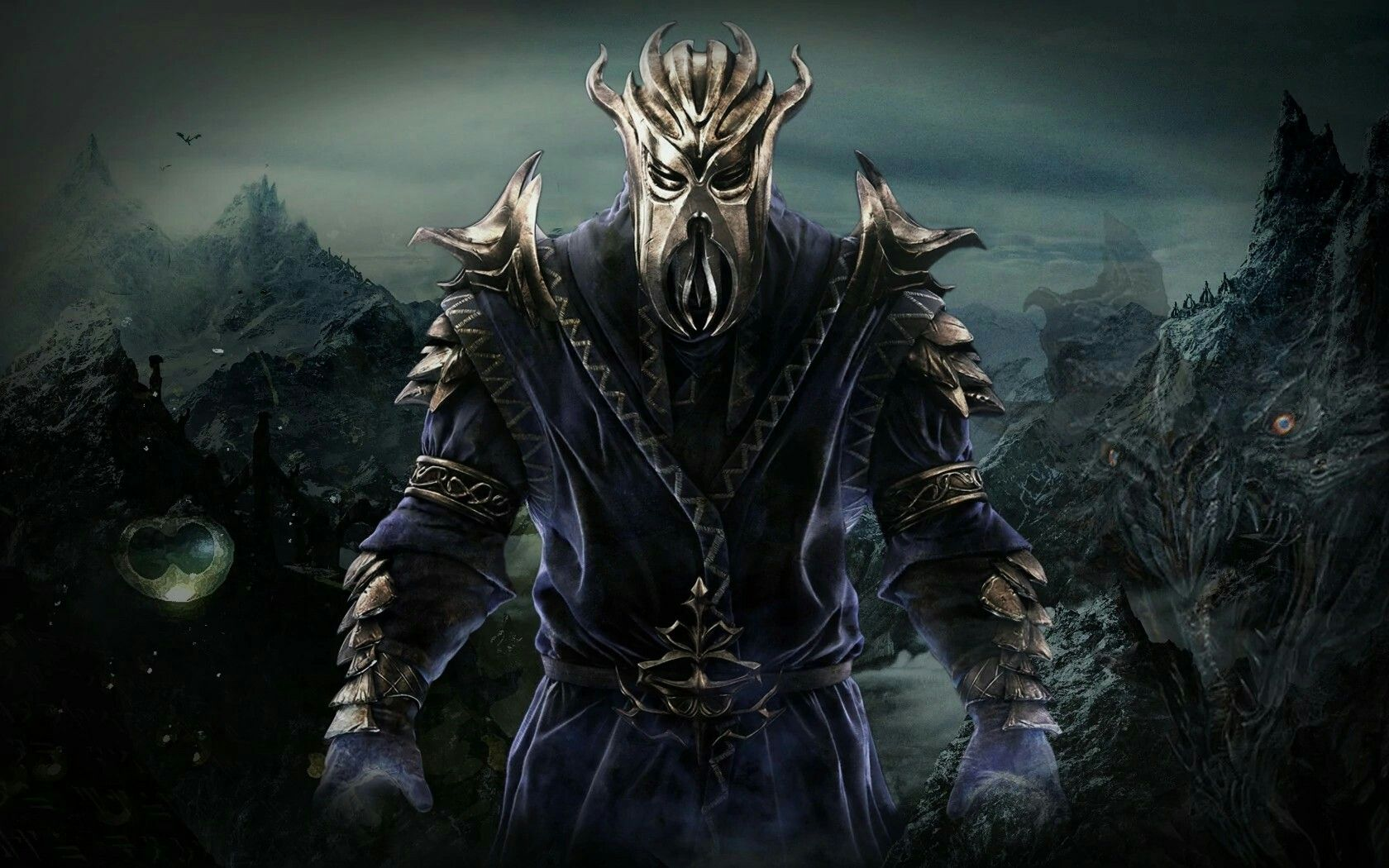 Miraak The Dragonborn D Skyrim Wallpaper Skyrim Elder Scrolls