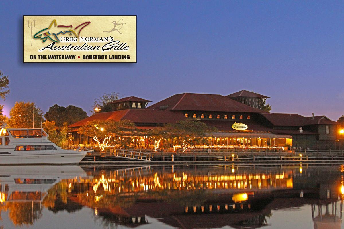 The Resturant Pub Myrtle Beach Vacationmapnorth Beachbarefootgreg Normansouth Carolinachampionrestaurantsdiners