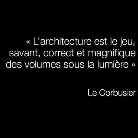 Le Corbusier Le Corbusier Architecture Citation