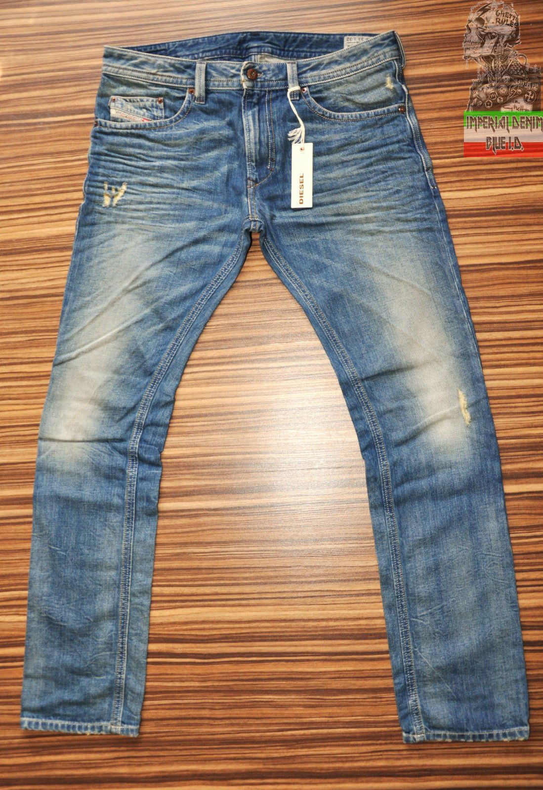 Diesel Thavar 806p 0806p Mens Jeans New Slim Fit Skinny Leg Distressed Sandblast Mens Jeans Mens Jeans Guide Slim Fit Skinny