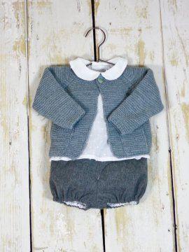 8eaebf6d1 chaqueta-punto bobo-bolsillos bebe niño niña gris Chaqueta De Verano, Ropa  Para