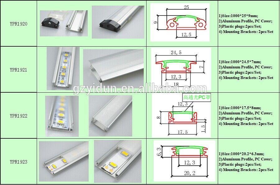 Yidun Lighting Customized 1m 2m 3m Aluminum Profile Led Strip Light Led Bar Light View Aluminum Profile Led Strip Light Yidun Product Details From Guangzhou Led Strip Lighting Led Lights Strip Lighting