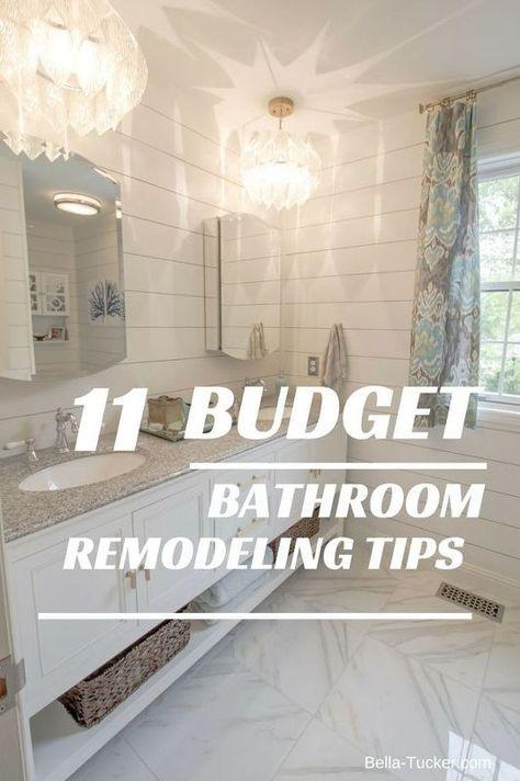 Budget Bathroom Remodel  Budget Bathroom Remodel Budget Bathroom Enchanting Bathroom Remodel Tips Inspiration