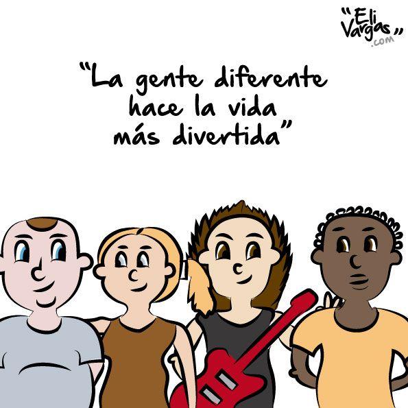 Frases Ilustración Diversidad Respeto Tolerancia
