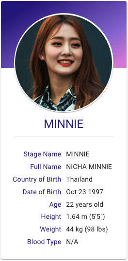 Minnie G I Dle Kpop Hallyu Idol Profiles Kpop Girl Bands Kpop Girl Groups Kpop