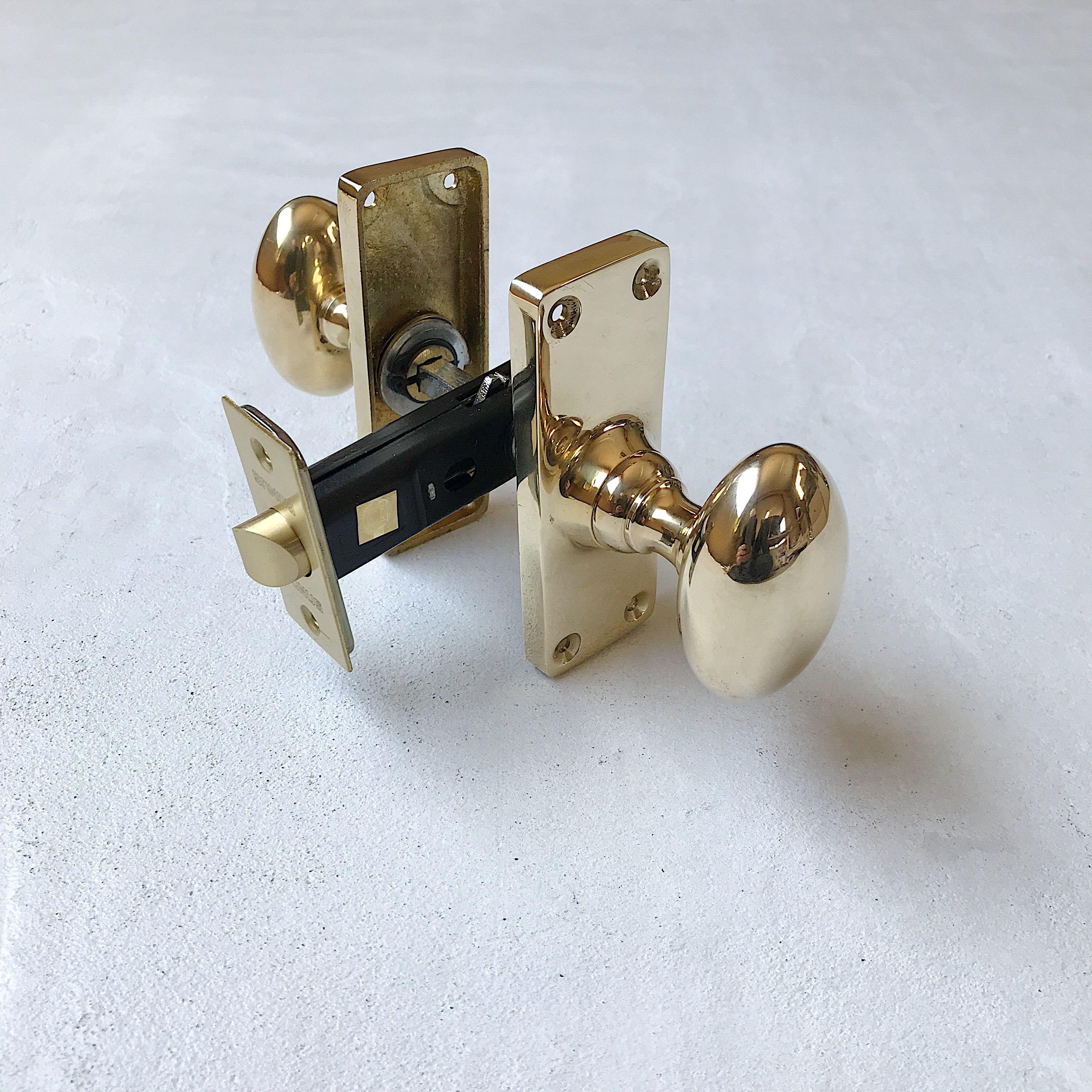 真鍮ドアノブ Type3 画像あり ドアノブ ノブ ドア