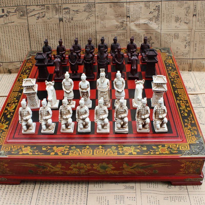 Chinese Terracotta Warriors Chess