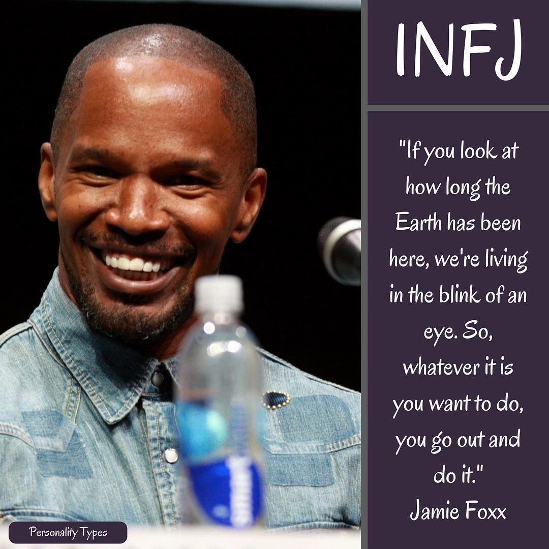 Jamie Foxx Thought to be an INFJ in the Myers Briggs