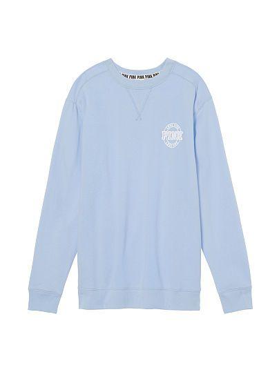 Victorias Secret PINK NWT Graphic Bling Longsleeve Campus T shirt L//XL M S XS ❤️