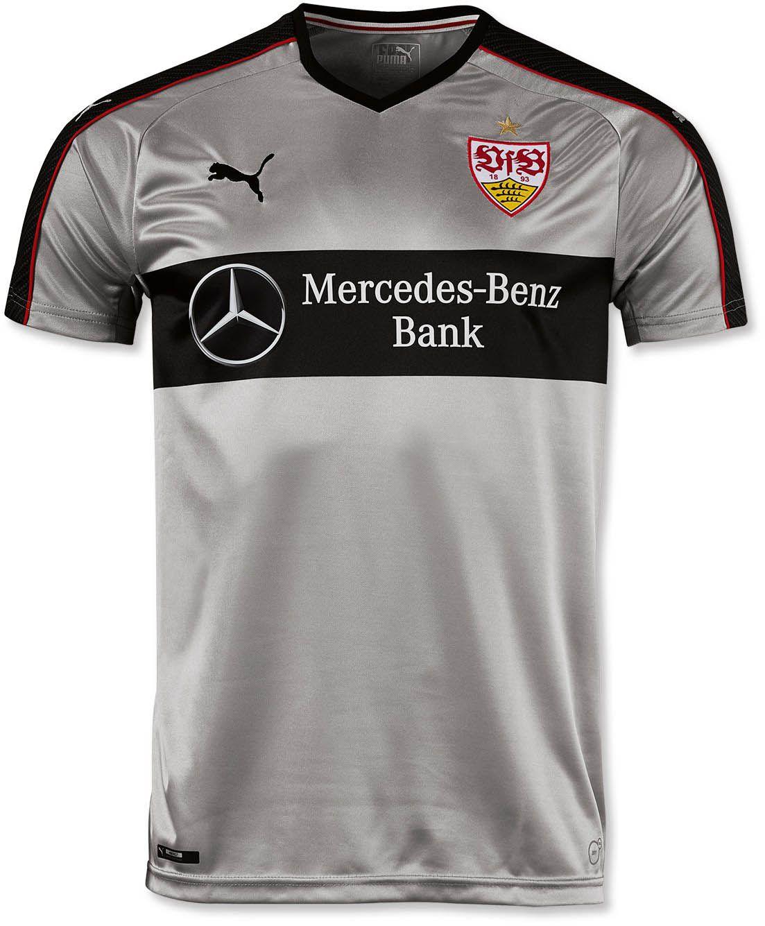 Vfb Stuttgart 16 17 Away And Third Kits Released Football Shirts Stuttgart Sport T Shirt