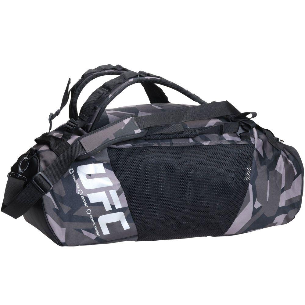 6a9c26fe Reebok Black UFC Gym Duffel Bag Backpack | F I T | Backpack bags ...