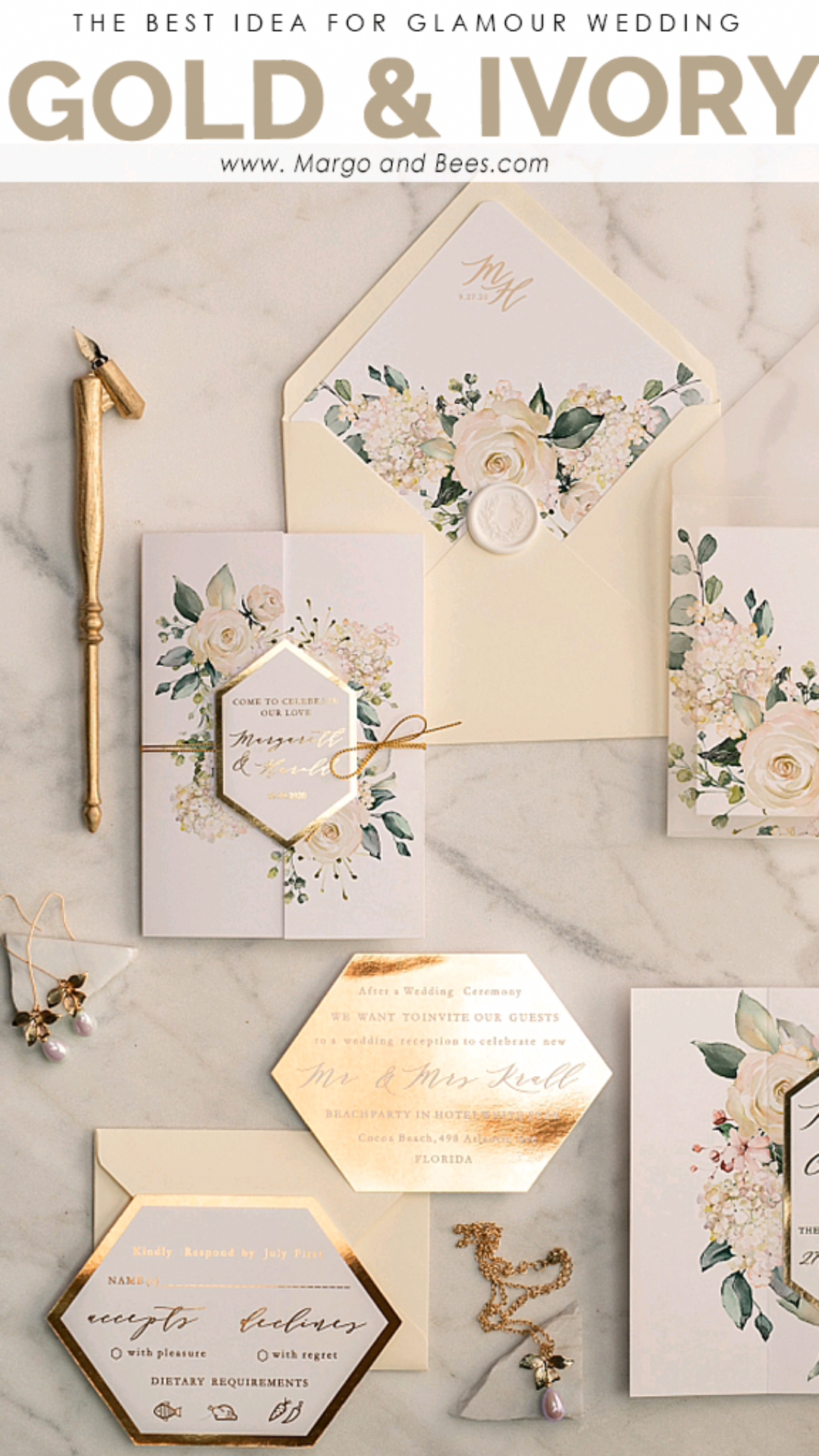 Find Out About Wedding Decorations Ideas Be Sure It Comes With An Adequate Period Of Time Inv Gold Wedding Invitations Wedding Invitations Uk Gold Invitations