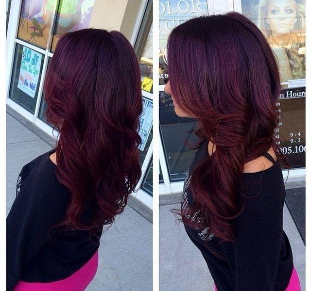 Level 5 Red Violet Hair Color