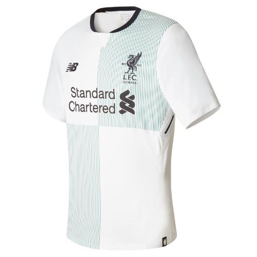 New Balance Mens Liverpool Away Shirt 2017 2018 Tee Top Short Sleeve Standard
