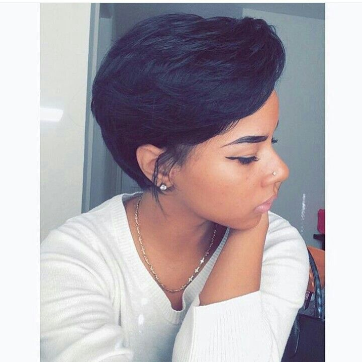 Pin By Shorty On Short Cuts Pinterest Short Hair Black Girls