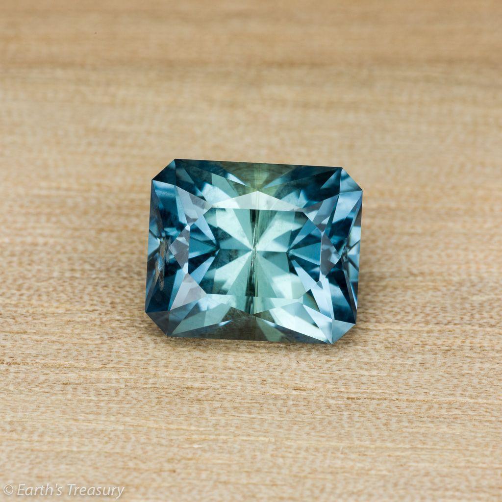 5 80-Carat Blue-Green Unheated Montana Sapphire | Gems and