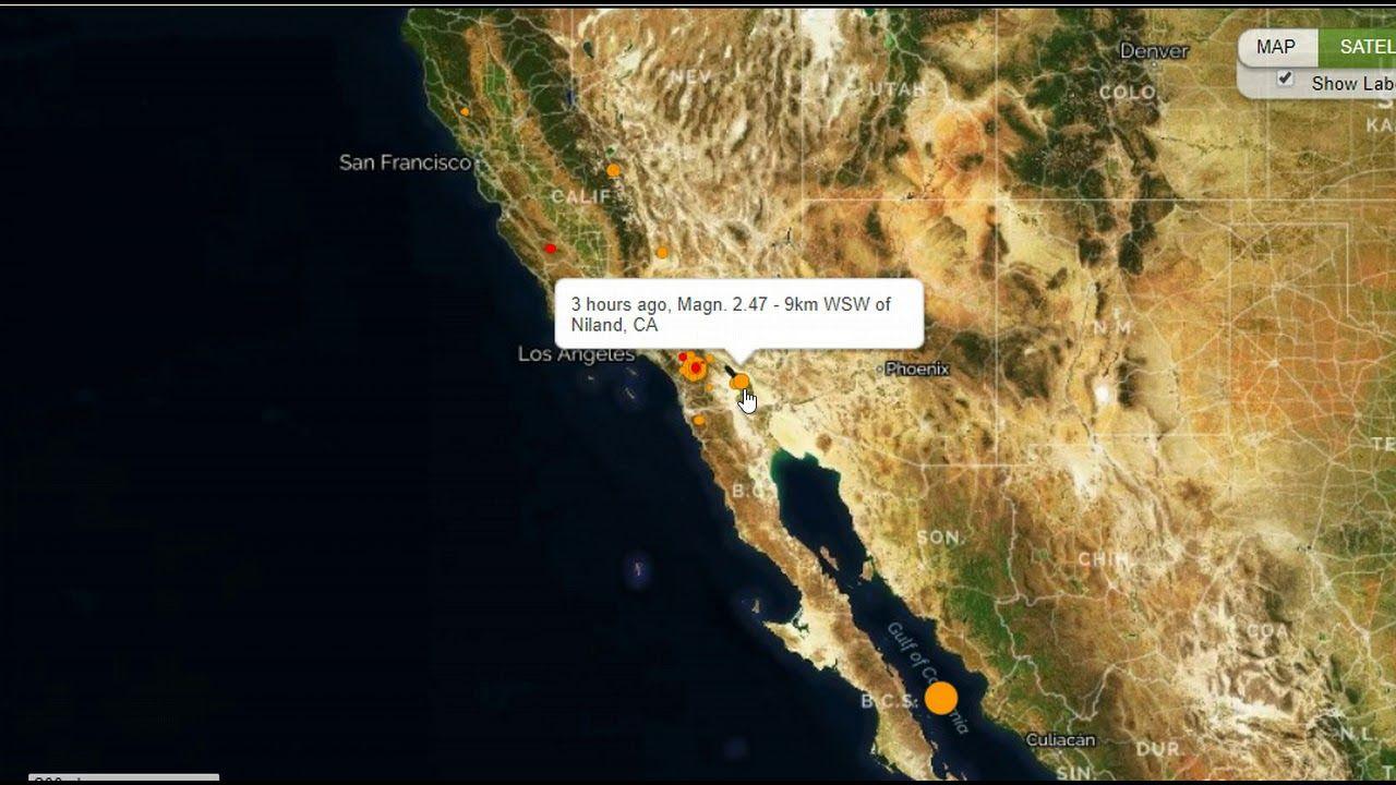 Earthquake Swarm Hits Southern California Mid Level Quake Strikes Gulf Earthquake News Earthquake Southern California