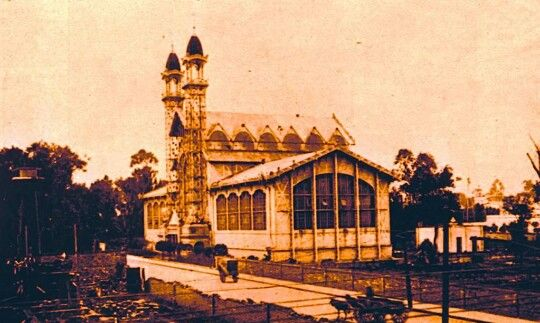 El palacio de cristal, 1903