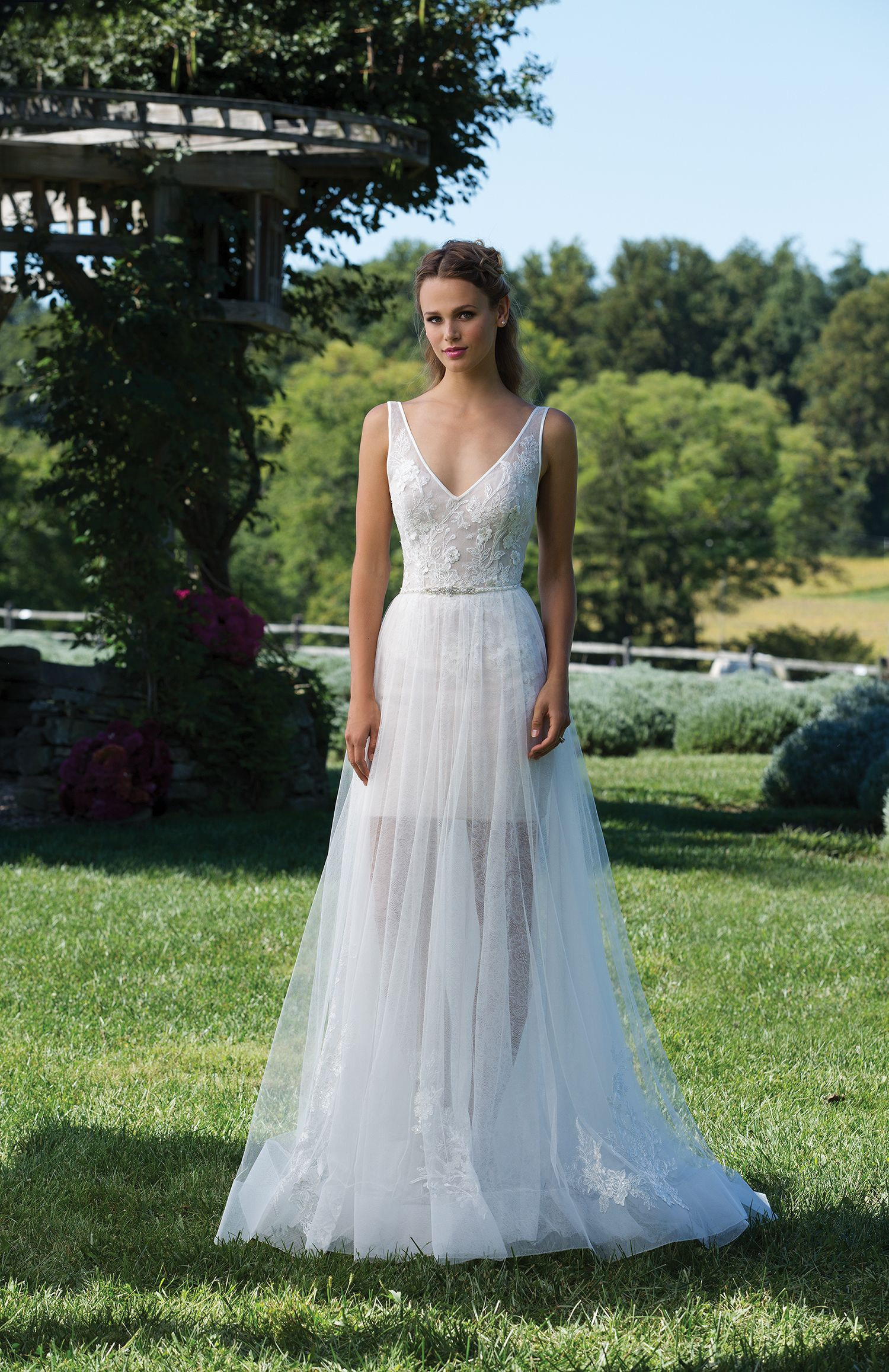 new product 1b089 919a0 2-in-1 Brautkleid von Sincerity aus der Kollektion 2018 ...