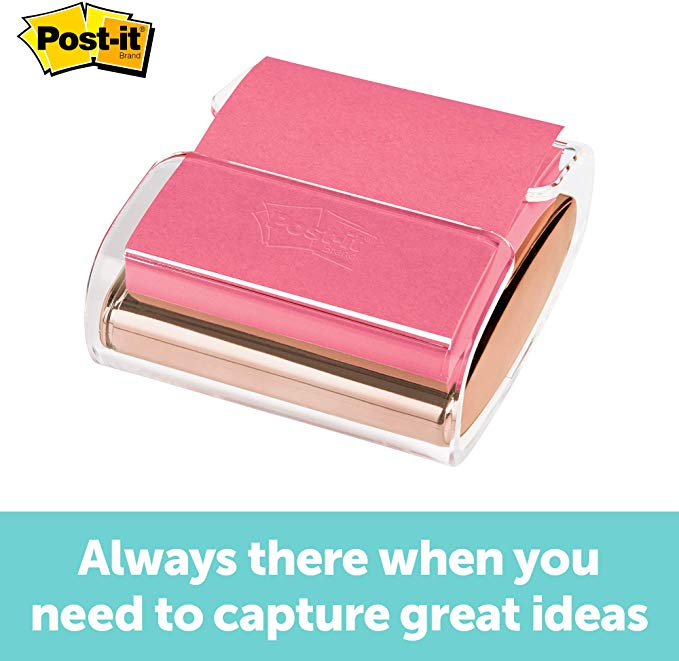 Amazon Com Post It Pop Up Note Dispenser Rose Gold 3 Inches X 3 Inches 1 Dispenser Pack Wd 330 R In 2020 Rose Gold Decor Office Supplies Diy Gold Office Supplies