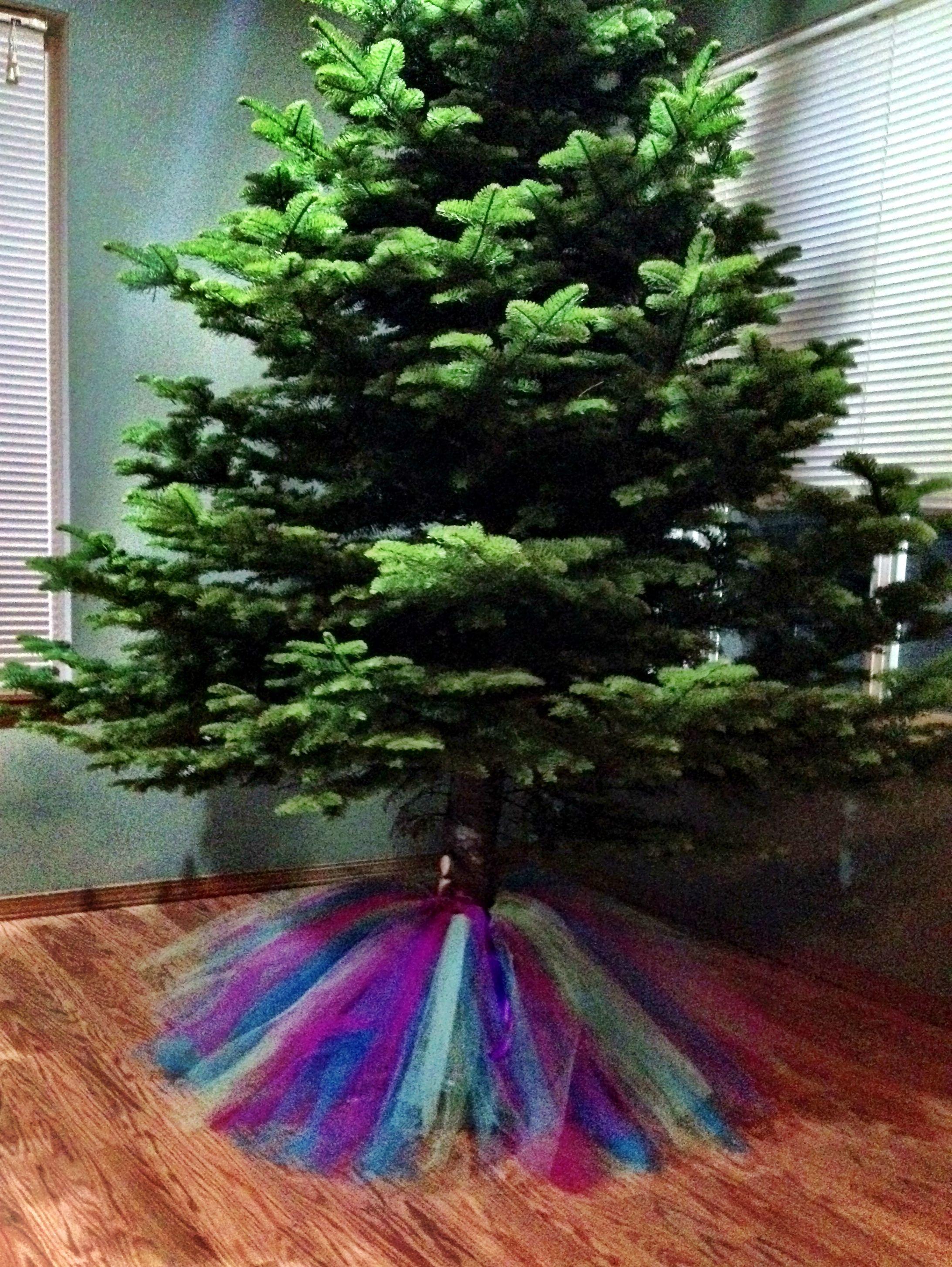 Tulle Christmas Tree Skirt