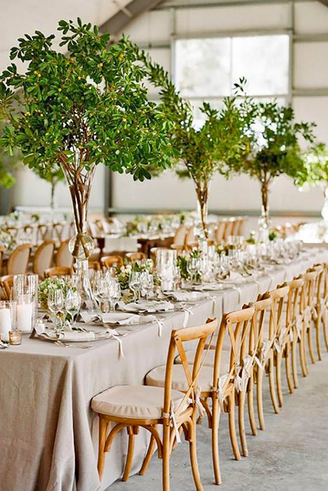 Wedding Wednesday: Emerald, White and Silver | Beautiful ... |Tall Green Centerpiece