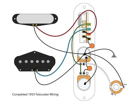 Telecaster build 5: the Telecaster 3way switch - YouTube | Telecaster  custom, 52 telecaster, TelecasterPinterest