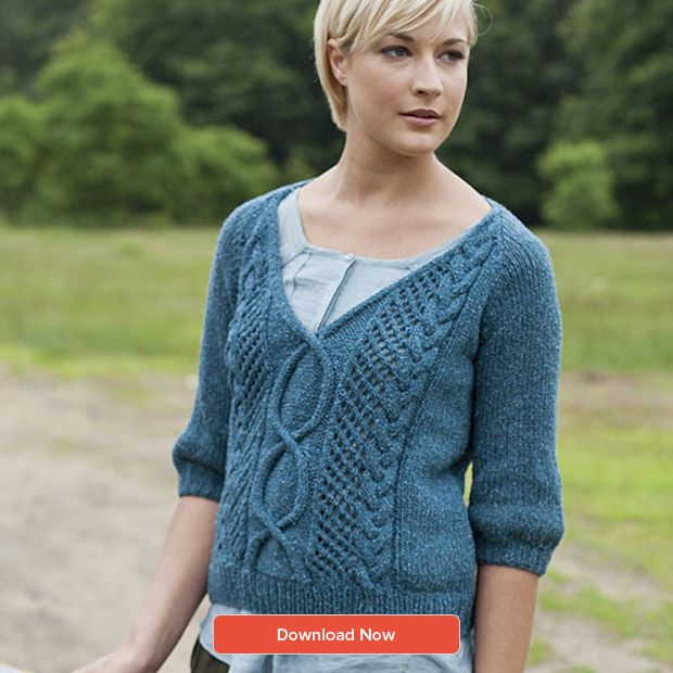Top 5 Free Aran Knits For Women Knitting For Women And Blog