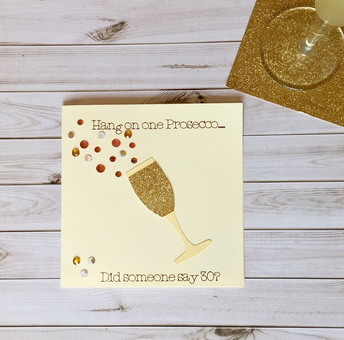 Prosecco card hang on one prosecco prosecco birthday card prosecco card hang on one prosecco prosecco birthday card prosecco engagement card handmade kristyandbryce Choice Image