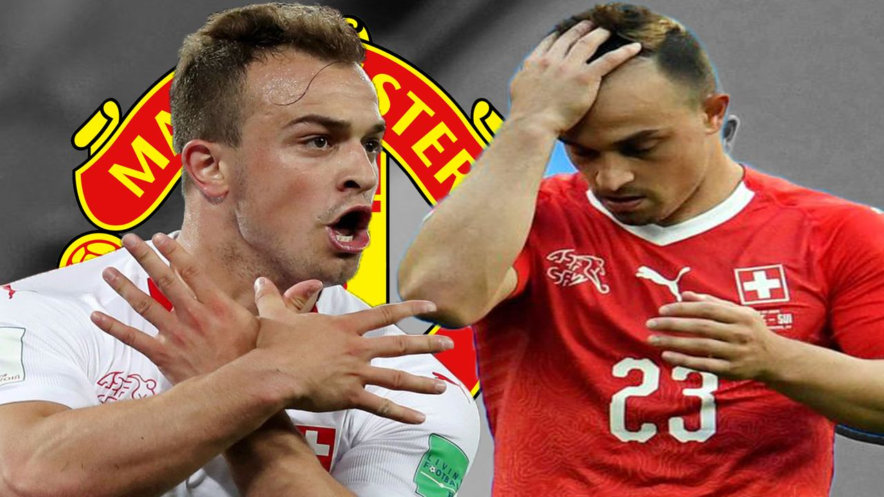 Manchester United Consider Bid For Xherdan Shaqiri Transfer News Mufc Manchester United Transfer News Manchester