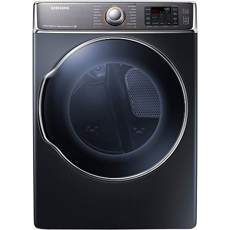 Samsung 9.5 CF Electric Dryer with Dual Heaters - Onyx