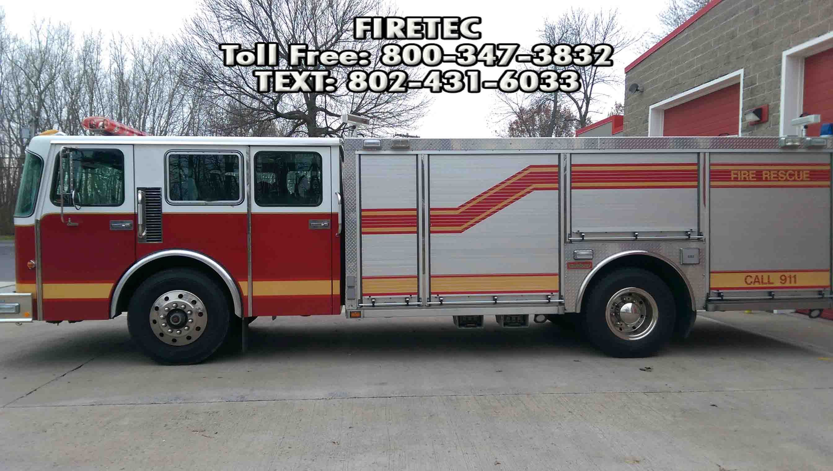 Used Fire Trucks For Sale >> Used Rescue Trucks For Sale Direct From The Department