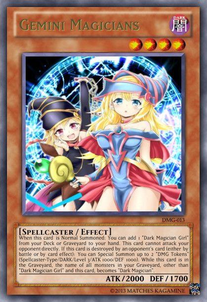 Yugioh Gemini Magicians Google Search Anime Love Pinterest