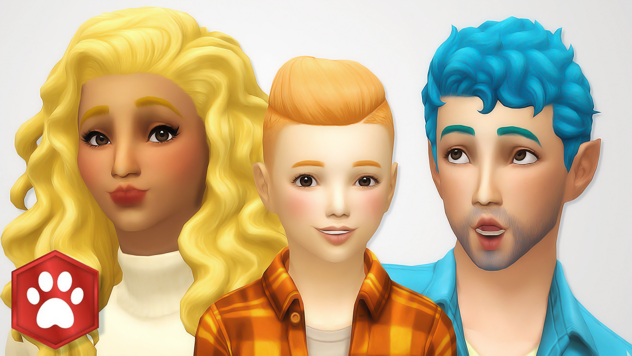 Noodles Cats And Dogs Hair Recolors All Of The Hairs From Not