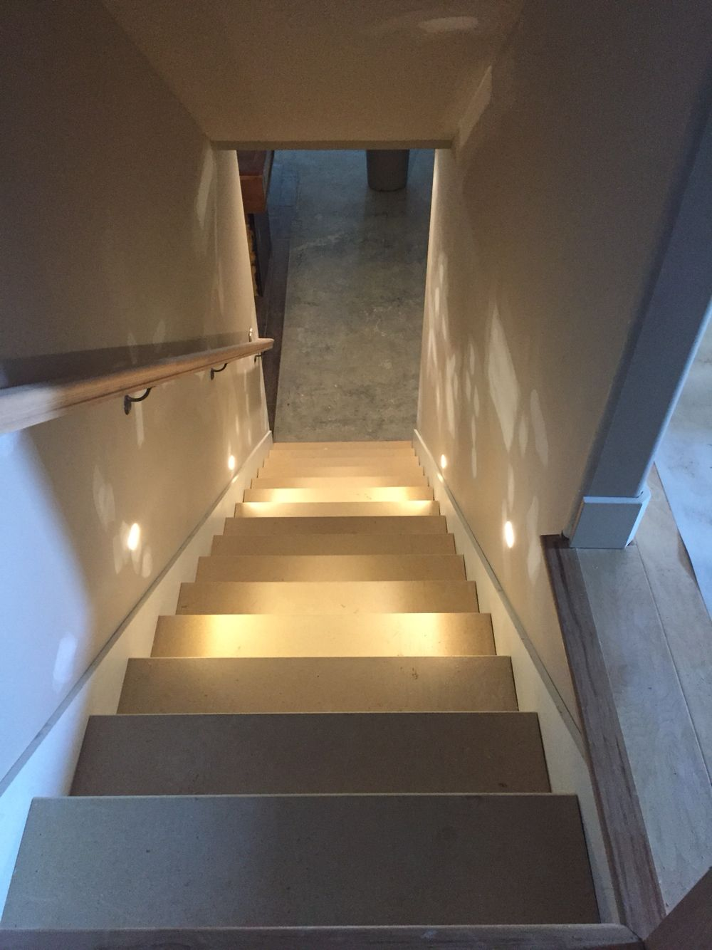 Custom craftsman style home. Wall lights inside drywall no plates ...