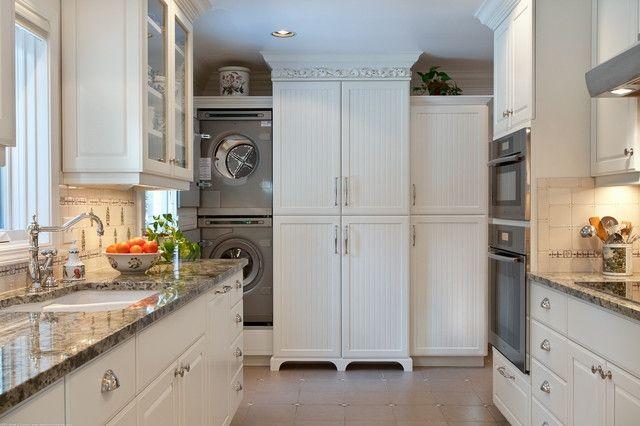 Washer Dryer Cabinet Enclosures Soaking