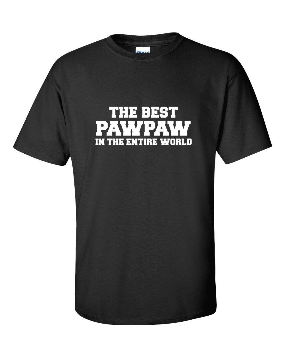 Awesome Papaw Shirt New Grandpa Shirt Best Papaw Tshirt Papaw Shirt Gift  67