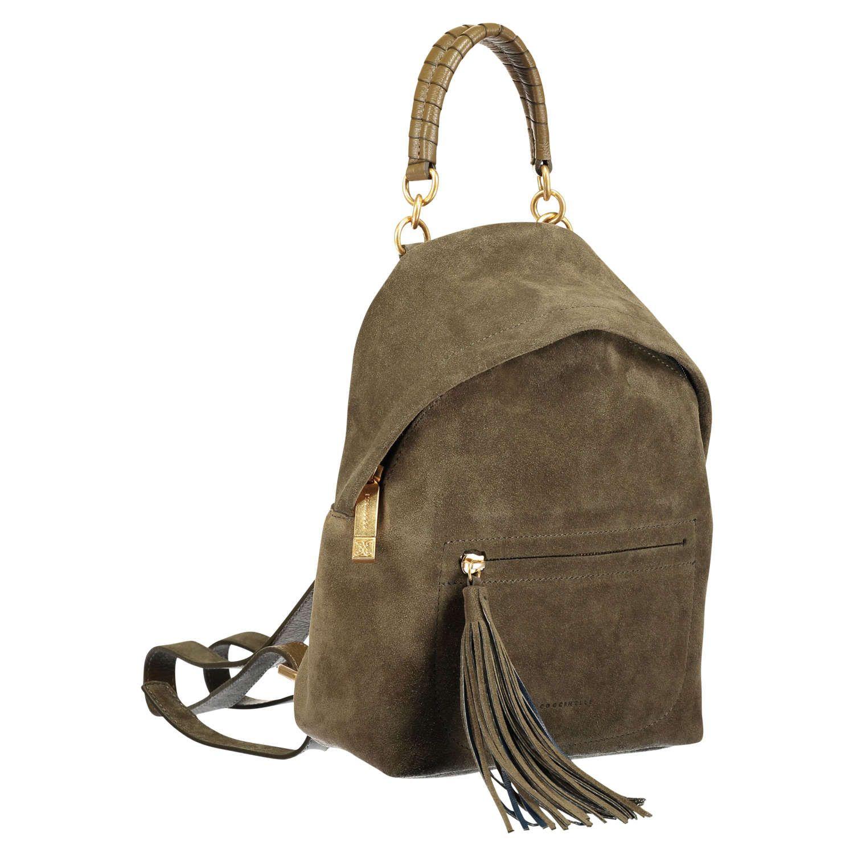 e72688e8fdfba COCCINELLE Kleiner Rucksack  Minibag  aus Leder ▻ Der Rucksack MINIBAG von  COCCINELLE ist aus