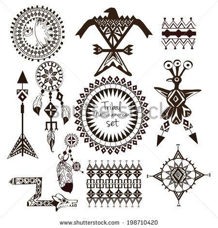Female Native American Indian Tattoos Google Search Symbols