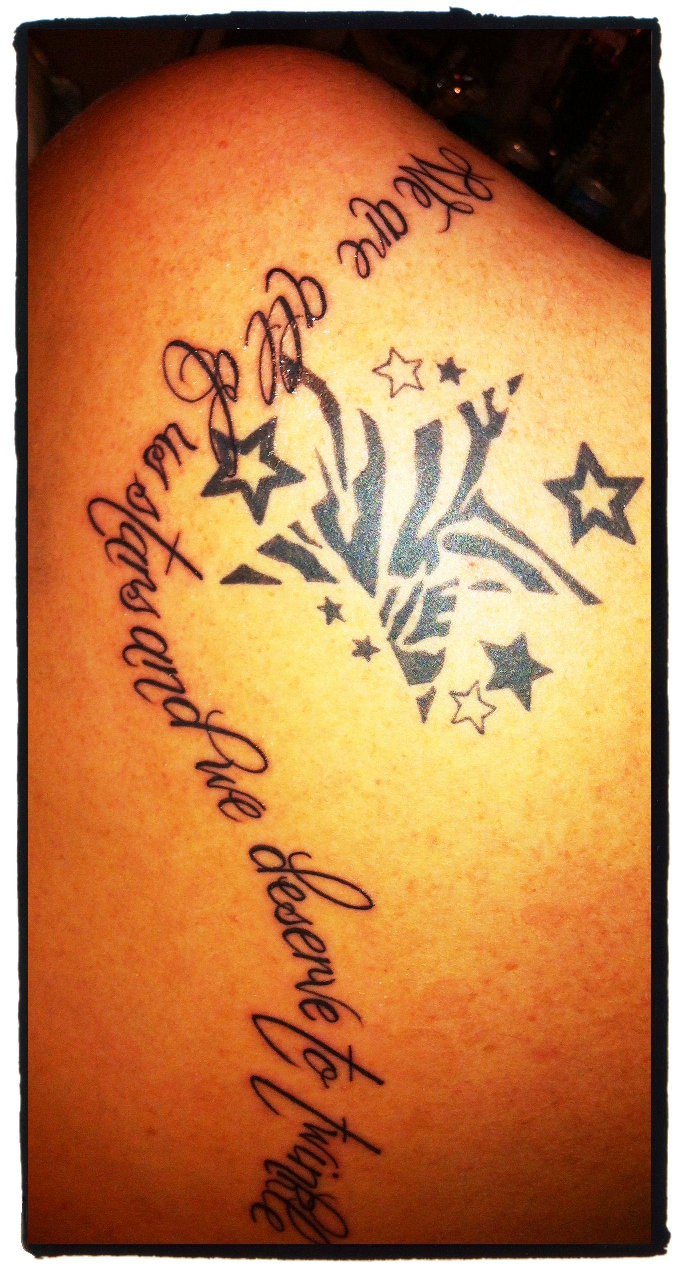 Marilyn Monroe quote tattoo   MARILYN MONROE   Tattoos, Star ...