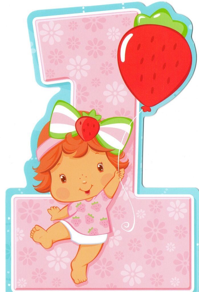 1st Birthday With Balloon Decoracion De Rosita Fresita