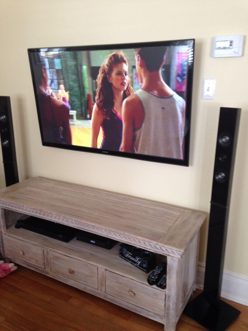 Tv wall mount with wicker emporium furniture tv wallmount