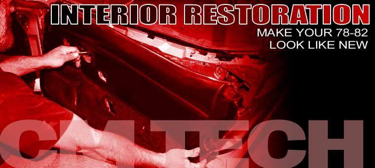 Corvette Interior Restoration Lead Corvette Restoration Chevrolet Corvette