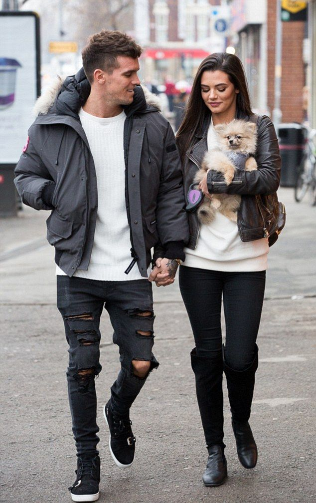 Gary Beadle Buys Cute Dog For Stunning Girlfriend Emma Mcvey Celebrity Style Inspiration Trend Family Celebrity Fashion Trends