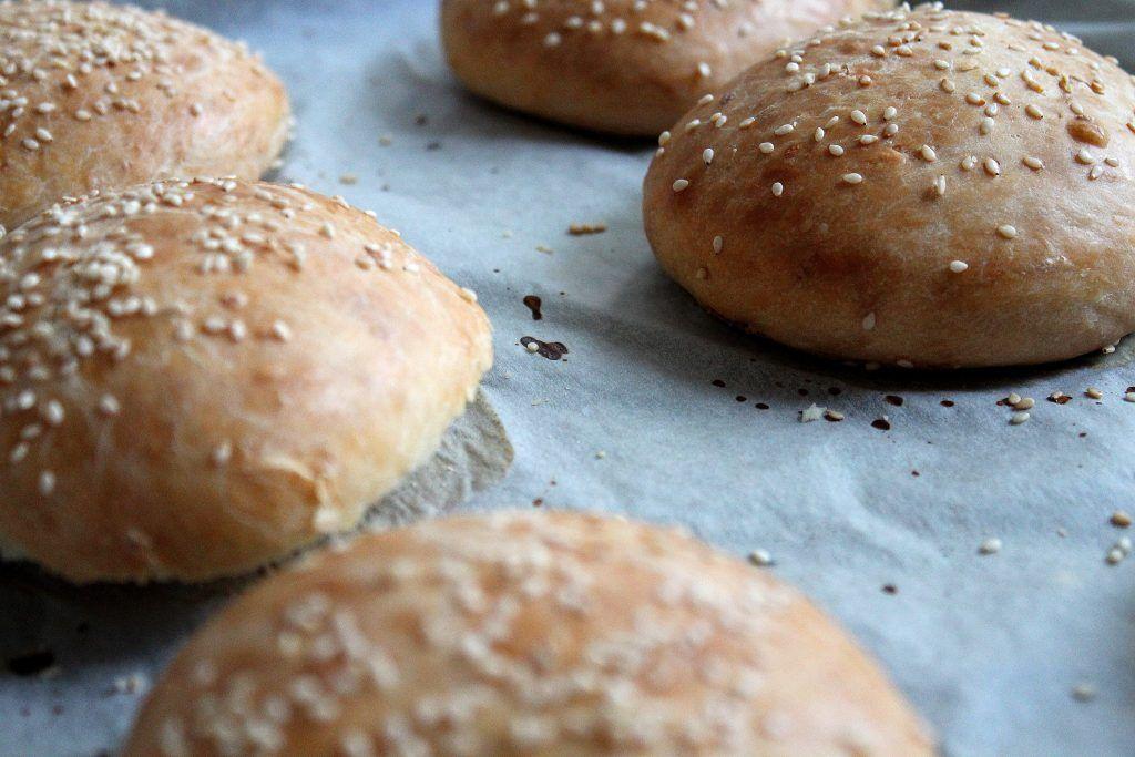 Pains à #hamburger au sésame fait maison!
